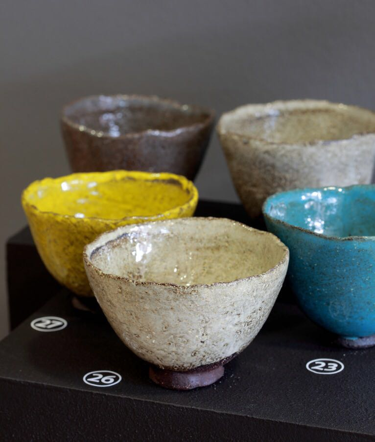 Bowls by Clementina in a Solo exhibition - Poetry in African Clay at Ebony gallery